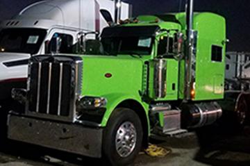 Semi truck & trailers