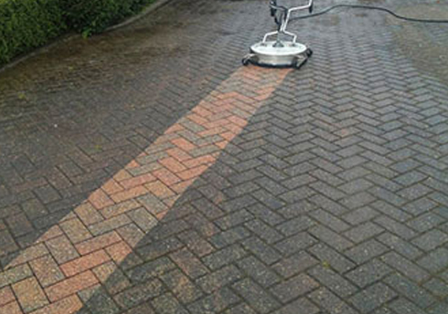 Driveway & Garage Cleaning