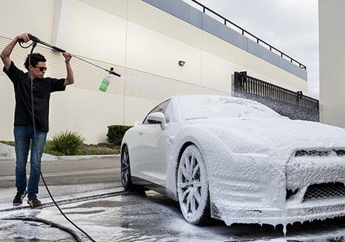 Custom Home Car Wash