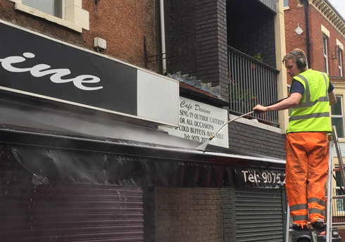 Sign & Awning Cleaning